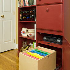 Filing Cabinets And Carts by ShelfGenie of Connecticut