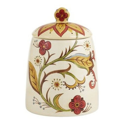 Carynthum Cookie Jar - Cookie jars may be perfect for after-school treats, but I also love to use them for dog treats too.