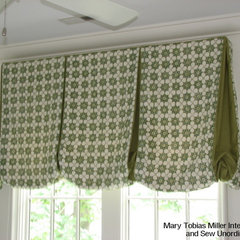 traditional curtains by Sew Unordinary
