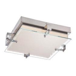 Kovacs - Kovacs P1121-084-L 1 Light LED Flush Mount Ceiling Fixture Cuff Link Co - Single Light LED Flush Mount Ceiling Fixture from the Cuff Link CollectionFeatures:
