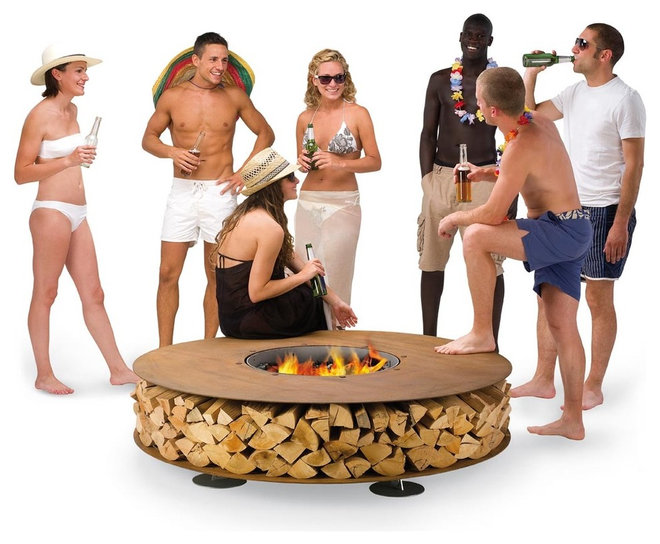 Modern Firepits by ak47space.com