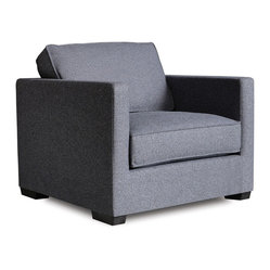 Gus Modern Richmond Chair in Lattice Granite