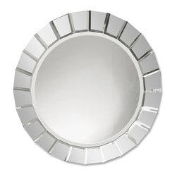 Uttermost - Uttermost 11900 B Fortune Frameless Round Mirror - Uttermost 11900 B Fortune Frameless Round Mirror