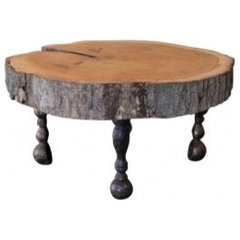 eclectic coffee tables by EcoFirstArt.com