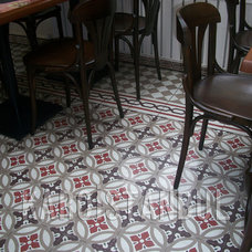 Traditional Dining Room by Karoistanbul Encaustic Cement Tile