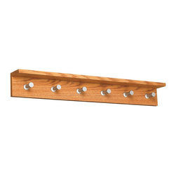 Safco - Contempo Wood Wall Rack - 6 Hook - Medium Oak Multicolor - 4222MO - Shop for Coat Hooks and Racks from Hayneedle.com! About Safco ProductsSafco products were specifically developed to meet the changing needs of the business world offering real design without great expense. Each product is designed to fit the needs of individuals and the way they work by enhancing comfort and meeting the modern needs of organization in the workplace. These products encourage work-area efficiency and ultimately work-life efficiency: from schools and universities to hospitals and clinics from small offices and businesses to corporations and large institutions airports restaurants and malls. Safco continues to offer new colors new styles and new solutions according to market trends and the ever-changing needs of business life.