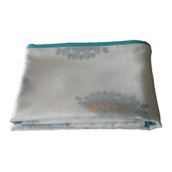 Baby Baazaar Inc. - Layered Muslin Baby Blanket - Proud peacocks are glorious-looking and always mesmerizing to kids. Give the gift of this layered muslin baby blanket festooned with peacocks in full regalia. The loosely Bengal-woven cotton fabric is breathable cotton, perfect for your little peacock or hen.