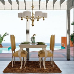 Macral Design Composition Nº 30. Dining room. - Dinning room. Composition Nº 30. The set includes: dining table + 4 chairs + sideboard / buffet+ cabinet: $9,692.