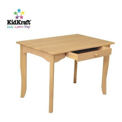KidKraft - Avalon Table - Natural by Kidkraft - Crafted from solid wood, KidKraft's Avalon Table echoes the elegant simplicity of Shaker-style furniture. Timeless in design, and at home in a traditional or contemporary nursery or play-area, the Avalon Table is 'kid-sized' at 24'H, and is specially designed to accommodate the growing child.