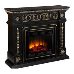 Cain Fireplace, Electric