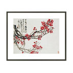 1000Museums - Plum Blossoms - Plum Blossoms by Wu Changshi, from the Christie's Images collection.