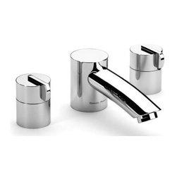Samuel Heath - Samuel Heath - Xenon 3H Tub Filler Deck  - V146-A-CP - Chrome Plate Finish