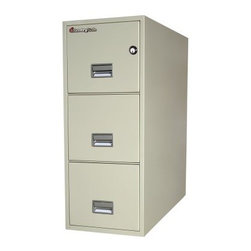 SentrySafe G3131 Fire Resistant 3 Drawer Legal Vertical Filing Cabinet - A 30-foot drop, drills, lock picks, fire, water -- all are no match for the SentrySafe G3131 Fire Resistant 3 Drawer Legal Vertical Filing Cabinet. It not only keeps your business records organized, it safeguards them against theft and the most common office disasters. Solid metal construction and brilliant engineering make this safe capable of protecting your papers from water and fire damage as well as being completely impact resistant. Three locking storage drawers glide in and out with ease and accommodate legal-and letter-sized hanging folders. The overall dimensions of this unit are 19.6W x 31D x 40.6H inches. Available in your choice of black, light gray, and putty finish.Shipping OptionsDock-to-Dock Freight ServiceNo additional charge. Dock-to-dock includes commercial freight delivered to a commercial loading dock. Recipient is responsible for unloading product, final placement, unpack, and debris removal. Not available for residential deliveries.Curbside DeliveryDelivery personnel will present goods to ground level at rear of delivery vehicle. Recipient is responsible for final movement of goods, unpack, and debris removal. Curbside delivery will not bring the item up to a residence.Threshold ServiceDelivery personnel will remove goods from truck and place goods inside first exterior doorway, garage, or carport. Service includes up to four steps exterior to the first doorway. Customer is responsible for final product placement, unpack, and debris removal. Inside Delivery ServiceDelivery personnel will remove goods from truck, place goods in your room of choice, and complete unpack and debris removal. Includes lift gate service and stair carry of 0-4 internal and external steps. Does not include site preparation or protection.About SentrySafeFor over three generations, family-owned SentrySafe has been with you, protecting your valuables, providing you peace of mind. SentrySafe uses rigorous testing standards to ensure your items are protected from fire, water, and theft. They offer safes in a wide range of sizes and types, and continue to innovate protection technology. They are proud to make all of their products right here in the United States. SentrySafe is a name you can trust for all your irreplaceable items.