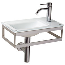 contemporary bathroom sinks by Modo Bath