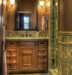 traditional bathroom by Maraya Interior Design