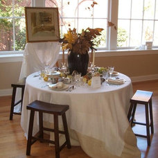 Eclectic Dining Room by Daniel Nolan for Flora Grubb Gardens