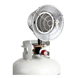 Stansport - Deluxe Propane Heater Bulk - Deluxe Propane Heater with durable 10 000 B.T.U. Ceramic Heater Element.  Connects easily to any bulk propane tank.  On/Off control knob.  Auto shut off valve for safety.  This item cannot be shipped to APO/FPO addresses. Please accept our apologies.