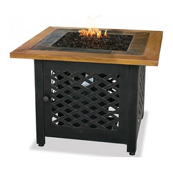 UniFlame Gas Fire Bowl - Fire pits have evolved from caves and campsites to become a central part of modern day outdoor living.