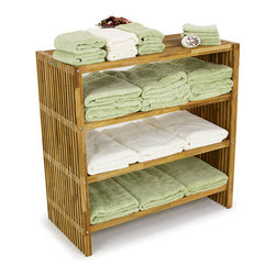 "Westminster Teak Furniture - Westminster Teak Towel Shelf - This teak storage shelf is a great solution to many storage problems. As an open teak storage unit it will add color, depth and precise locations for the items that you will want to access frequently. Since this teak storage shelf is made from premium grade teak it can be placed in a steam room, sauna, bathroom, added to a kitchen for traditional purposes or in any room where storage is needed. The micro-smooth finish on this teak storage unit will not snag towels or other fabrics and it comes with a lifetime warranty. Also see our larger 48"" teak storage shelf."