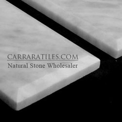 Carrara Marble Italian White Bianco Carrera 3x6 Marble Subway Tile Beveled Polis - Bianco Carrara 3x6 Marble Subway Tile is also known as White Carrera 3x6 Marble Subway Tile. Premium grade 3x6 marble subway tile is perfect for both residential and commercial projects (kitchen renovation, shower remodeling, renovating bathroom, backsplash, cladding walls). 3x6 Marble Subway Tiles are mainly preferred as backsplash tiles for their clean, aesthetic qualities. A large selection of coordinating products are available, including Carrara basketweave mosaics, Carrara herringbone mosaics, Carrara hexagon mosaics, 3x6 marble subway tiles, 12x12 Carrara marble tiles, 4x4 Carrara marble tiles, Carrara borders, Carrara moldings and Carrara baseboards, each available in honed, polished and tumbled finishes.