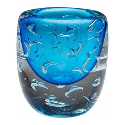 Cobalt Blue Bristol Art Glass Vase - *Bristol Vase
