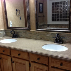 Traditional Bathroom Countertops by CreeKraft Cultured Marble Products