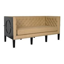 """NOIR - NOIR Furniture - Nortredame Sofa - Dimensions: 73"""" X 32"""" X 33.5"""" H"""