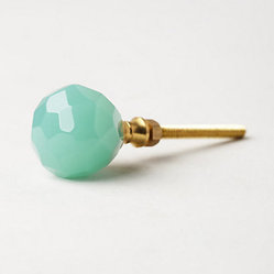 Faceted Sotara Knob, Mint - Anthropologie has made itself the spot for pretty hardware, it seems ...