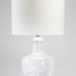 Cyan Design - Carmel Table Lamp - Carmel table lamp - white