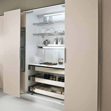 Contemporary Pantry Cabinets by European Kitchen Art