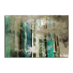 Ready2HangArt - Ready2HangArt Alexis Bueno 'Smash VI' Oversized Canvas Wall Art - This abstract canvas art is the perfect addition to any contemporary space. It is fully finished, arriving ready to hang on the wall of your choice.