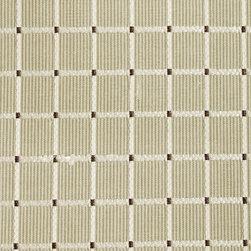 Plaid/Check - Basil Upholstery Fabric - Item #1011605-354.