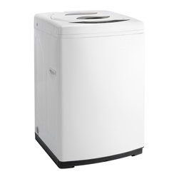Danby - Portable Top Load Washer-White - -11.02 lb. (5 kg) capacity washer