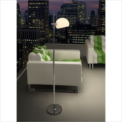ZUO - Zuo Astro Floor Lamp Frosted Glass - ZUO - Floor Lamps - 50012 - Zuo: Making the small things at home bigger and better!