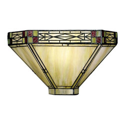 Dale Tiffany - New Dale Tiffany 1-Light Wall Sconce Mission - Product Details