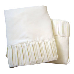 Luxury Egyptian 800 Microfiber Bed Sheet Set 4 PCS, Ivory, Twin - Blowout Sale!!! The perfect Bed Sheet Set for every day use! Our luxury Micro-Sheets include one Flat Sheet, one Fitted Sheet, and one Pillow case. Twin size comes in a 3 Pcs set. Gorgeous folded-hem soft sheet set for your bed and/or guest bedroom. Machine washable and dryer free. No iron necessary, easy to maintain. A complimentary Free Shipping for this order!