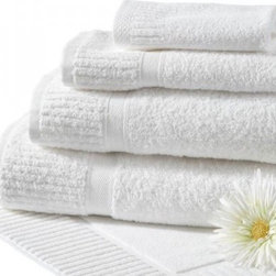Grande Hotel Towels - Add a touch of elegance with fluffy white towels.