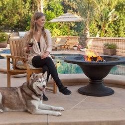 Outdoor Classics - Cast Iron/ Cast Aluminum Bronze Fire Pit -