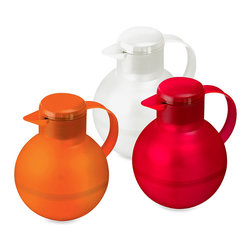 Emsa Samba for Tea 4-Cup Insulated Thermal Carafes - Vibrant and modern, these insulated carafes will keep both hot and cold teas at the right temperature for up to 16 hours.