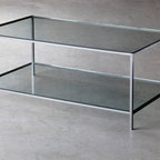 Covina Cocktail Table by Charleston Forge - Dimensions: (width x depth x height or thickness)