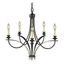 Murray Feiss - Murray Feiss Boulevard 1 Tier Chandelier in Oil Rubbed Bronze - Shown in picture: Boulevard Chandelier in Oil Rubbed Bronze finish