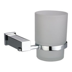 Dawn Kitchen & Bath - Dawn 8202 Single Toothbrush Holder - - Chrome or Satin Nickel Single Tooth Brush Holder