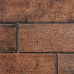 "Vanier - Vanier Engineered Hardwood - Handscraped Mixed Widths Collection - Vanier offers a 9/16"" thick, 8 ply, handscraped engineered line of flooring. The floor is produced as a mix of 2 3/4"", 3 1/4"", and 5"" widths with a 3 mm hardwood veneer face. A 100% handscraped face gives each plank a unique antique flooring appearance, something that machine scraped floors cannot offer. This collection of engineered flooring has a beveled ""french Bleed"" edge and is constructed with a precision tongue & groove joint. Some planks may be more distressed than others. Lay out boards before installing to ensure a satisfactory appearance.  [19.0 sq ft/box] - Maple Antique / 9/16""x 5""-3 1/4""-2 3/4""xRandom Length -- If dimensions = 0, value = Random"