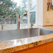 Modern Kitchen Sinks by Bill Fry Construction - Wm. H. Fry Const. Co.