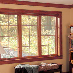 Casement & Awning Fiberglass Windows - Family Room showing Casement and Awning Style Fiberglass Replacement Windows - Photo by Infinity from Marvin