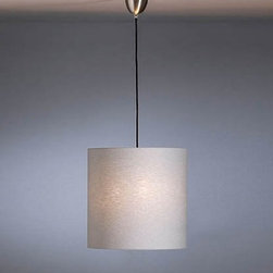 HLWSP  S 07/2 PPendant Light - The HLWSP S 07/2 PPendant Light is designed by Walter Schnepel and made by Tecnolumen. The pendant lamp HLWSP S07 / 2 by Tecnolumen is characterized by a wide screen, available in many different designs, which provides an expansive photo from. Optionally you can have a white plastic diffuser acquire the light even softer to sign. The cylindrical lampshade can be optimally on their living room to vote, because they can choose from 12 different color variations. Plain-colored umbrellas from linen fabric get them in white, natural, gray, red and anthracite. Furthermore Tecnolumen offers a plastic shield from Aslan, which is particularly suitable for contract use. Finally, you can still choose a contrasting variant of linen fabric if they take laminated on colored paint film the anthracite-colored screen. The color of the paint film (orange, magenta, green, light blue, red or white), you can determine, they will then be visible on the inside of the screen. Please enter at your order with your favorite color.     .proddesc p{font-family: Verdana, sans-serif; font-size:8pt!important;}   .pdtable{font-family: Verdana, sans-serif; font-size:8pt!important;padding:10px;}    Product Details: The HLWSP  S 07/2 PPendant Light is designed by Walter Schnepel and made by Tecnolumen. The pendant lamp HLWSP S07 / 2 by Tecnolumen is characterized by a wide screen, available in many different designs, which provides an expansive photo from. Optionally you can have a white plastic diffuser acquire the light even softer to sign.   The cylindrical lampshade can be optimally on their living room to vote, because they can choose from 12 different color variations. Plain-colored umbrellas from linen fabric get them in white, natural, gray, red and anthracite. Furthermore Tecnolumen offers a plastic shield from Aslan, which is particularly suitable for contract use. Finally, you can still choose a contrasting variant of linen fabric if they take laminated on col