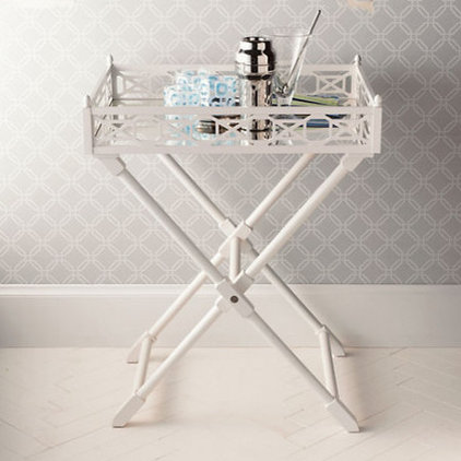 Traditional Indoor Pub And Bistro Tables Fretwork Tray Table