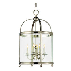 Medium Round Edwardian Entry Lantern - This gorgeous lantern makes a smashing first impression. Use it the traditional way - in an entryway, or try it over a dining table.