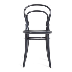Bent Gray Bistro Chair - I love the slim, curvy figure of this updated classic bistro chair by ABC Home.