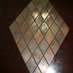 Diamond Antique copper tiles - Antique copper tile